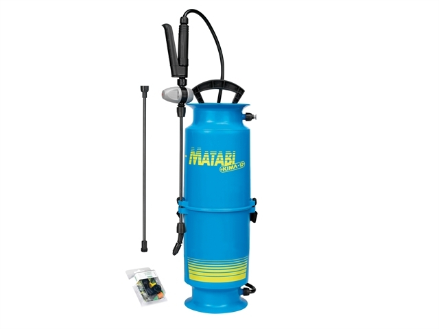 Kima 12 Sprayer + Pressure Regulator 8 Litre