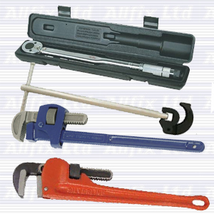 Powergrip Hexagon Pipe Wrench 250mm (10in) Capacity 25mm