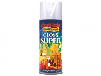 Super Spray Gloss White 400ml