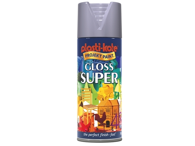 Super Gloss Spray Aluminium 400ml