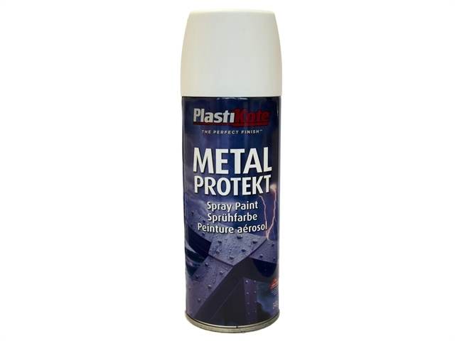 Metal Protekt Spray Satin White 400ml