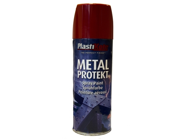 Metal Protekt Spray Bright Red 400ml