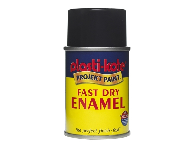 Fast Dry Enamel Aerosol Chrome 100ml