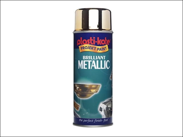 Brilliant Metallic Spray Gold 400ml
