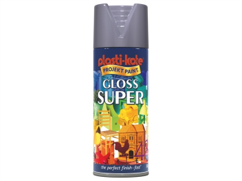 Twist & Spray Gloss Medium Grey 400ml