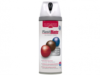 Twist & Spray Gloss White 400ml