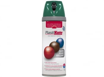 Twist & Spray Gloss Lawn Green 400ml