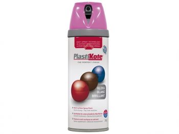 Twist & Spray Gloss Pink Burst 400ml