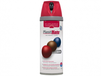 Twist & Spray Satin Real Red 400ml