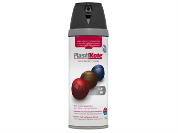 Twist & Spray Matt Black 400ml