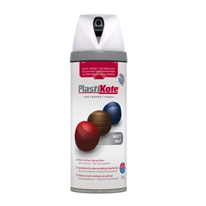 Twist & Spray Matt Black Plum 400ml