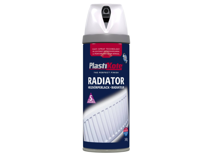 Twist & Spray Radiator Gloss White 400ml