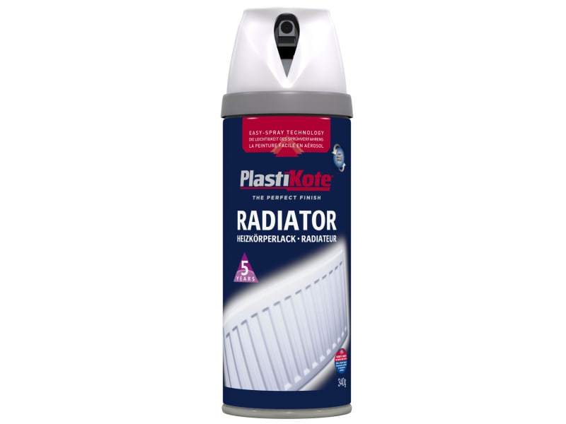 Twist & Spray Radiator Satin White 400ml