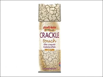 Crackle Touch Spray Black Top Coat 400ml