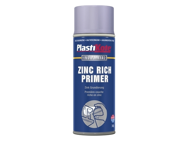 Industrial Primer Spray Zinc Rich 400ml