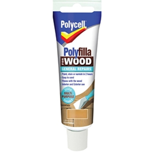 Polyfilla For Wood General Repairs Tube Medium 75g