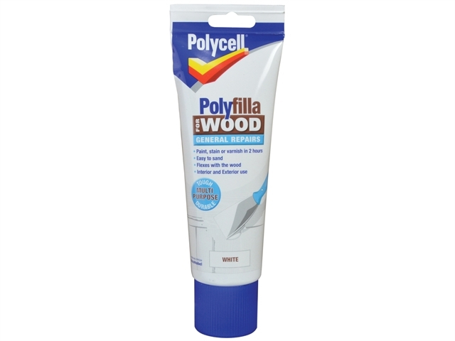 Polyfilla for Wood General Repairs White Tube 330g