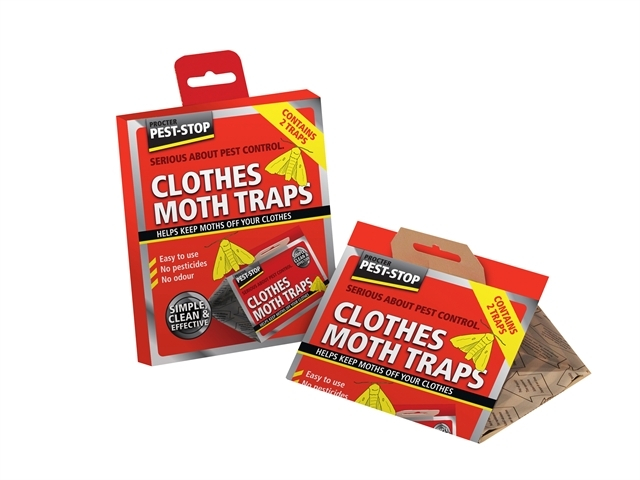 Clothes Moth Trap Twin Pack