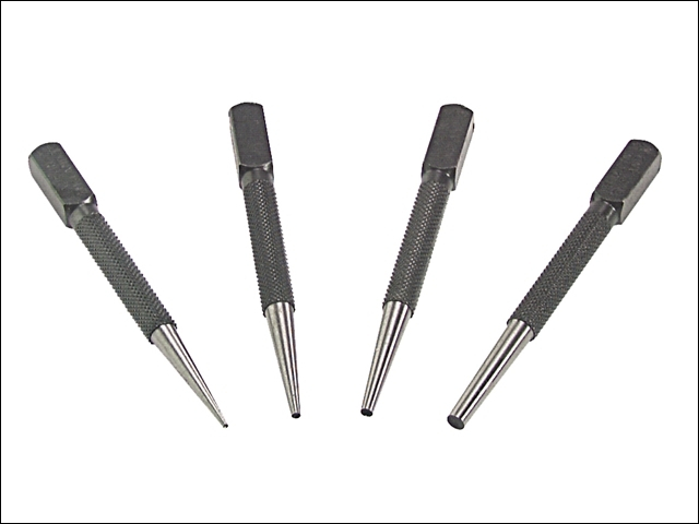 66SN4 Set of 4 Nail Punches in Wallet