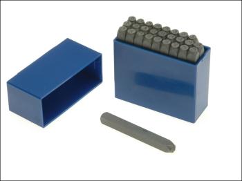 181- 5.0mm Set of Letter Punches 3/16in