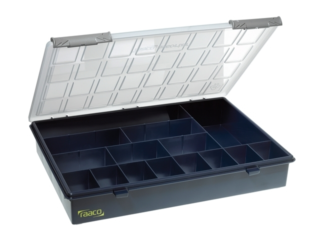 A4 Profi Service Case Assorter 15 Fixed Compartments