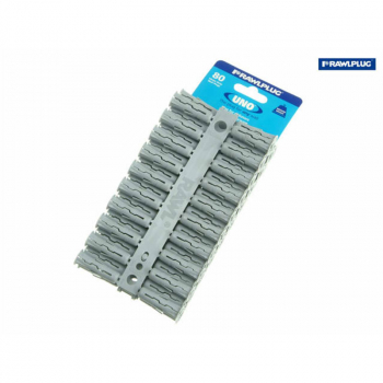 Grey UNO Plugs 10 x 36mm (Car d 80)