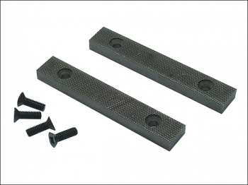 PT.D Replacement Pair Jaws & Screws 100mm (4in) for 3 Vice