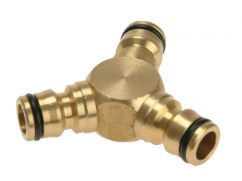 Brass Y-Connector 12.5mm (1/2in)