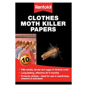 Clothes Moth Papers Pack of 10