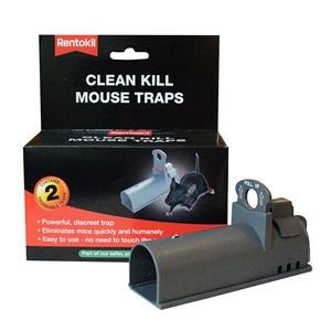Clean Kill Mouse Traps Twin Pack