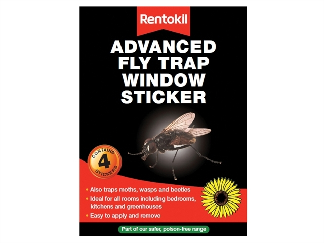 Advanced Window Fly Traps (Pack of 4)