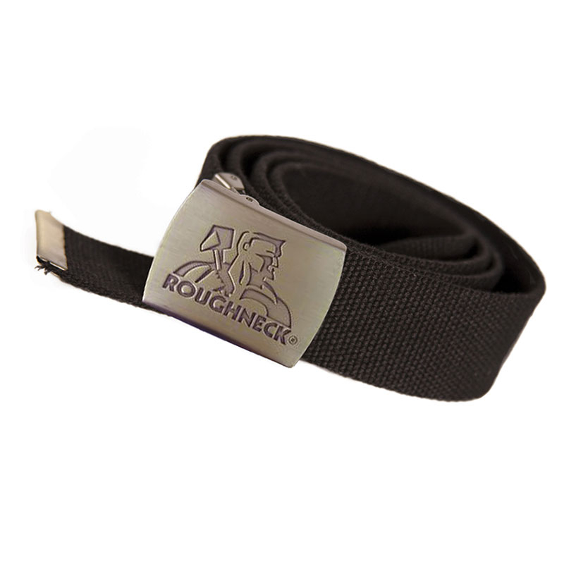 Black Heavy-Duty Woven Belt
