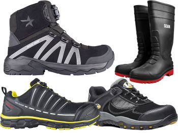 Raptor Hi-Top Safety Trainer/Boot UK 12 Euro 47