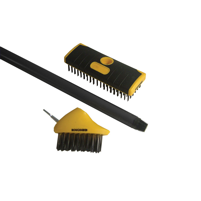 Patio & Decking Brush Set, 3 Piece