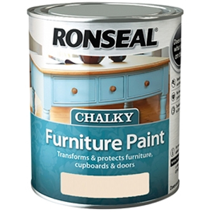 Chalky Furniture Paint English Rose 750ml