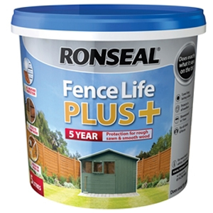Fence Life Plus+ Medium Oak 5 litre