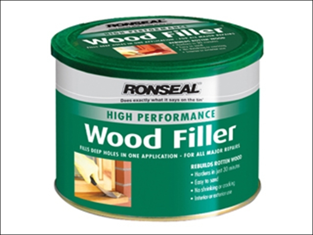 High Performance Wood Filler White 275g