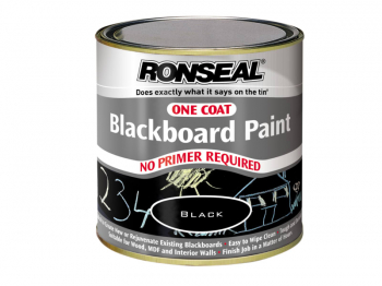One Coat Blackboard Paint 250ml