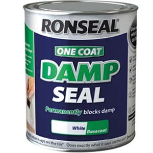 One Coat Damp Seal White 2.5 litre