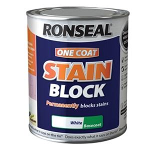 One Coat Stain Block White 750ml