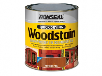 Quick Drying Woodstain Satin Mahogany 250ml