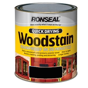 Quick Drying Woodstain Satin Walnut 2.5 Litre