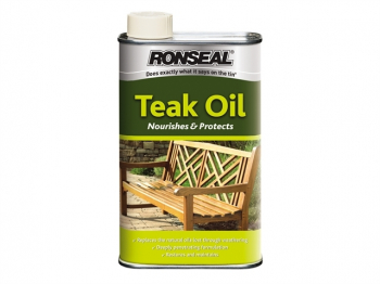 Garden Furniture Teak Oil Can 500ml