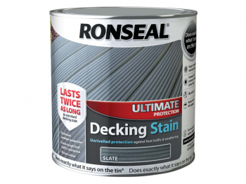 Ultimate Protection Decking Stain Slate 2.5 Litre