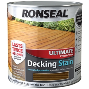 Ultimate Protection Decking Stain White Wash 2.5 Litre