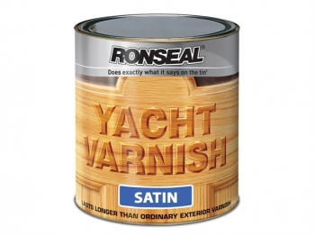 Exterior Yacht Varnish Satin 1 litre