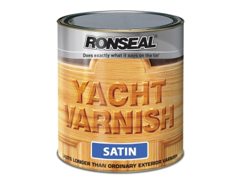 Exterior Yacht Varnish Satin 2.5 Litre