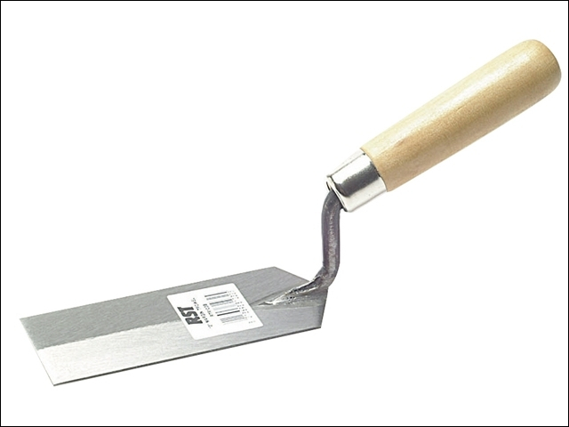 Margin Trowel Wooden Handle 5 x 2in