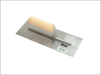Plasterer's Finishing Trowel S traight Wooden Handle 11 x 4.1