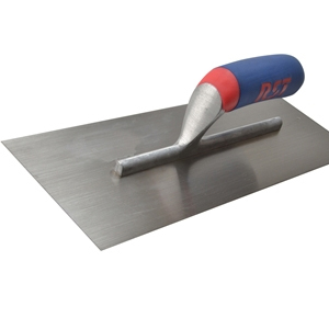 Plasterer's Finishing Trowel Carbon Steel Soft Touch Handle